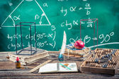 Trigonometry classes in school — Stock Photo
