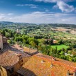 View of the vintage city in Tuscany, Italy — Stock Photo #57341707