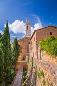 View of the vintage town of Pienza, Italy — Stock Photo