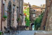 View of the town Bagnoregio, Tuscany — Stock Photo