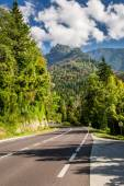Public road in the mountains — Stock Photo