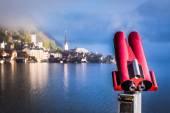 View of Hallstatt in the Alps — Stock Photo
