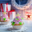 Christmas Cupcake — Stock Photo #60290373
