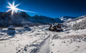 Enjoy your winter journey — Stock Photo