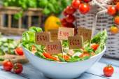 Nice looking food can have preservatives — Stock Photo