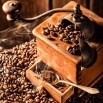 Aroma of fresh coffee grains — Stock Photo #68200393