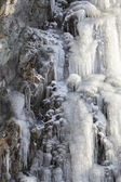 Icefall in Morning Light — Stock Photo