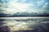 Chilkat River Reflections — Stock Photo