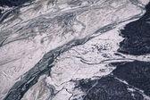 Chilkat River in Winter — Stock Photo