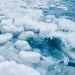 Floating Ice Chunks — Stock Photo #64872523