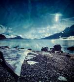 Alaskan UFO — Stock Photo