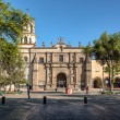 Постер, плакат: Mexico City San Juan Bautista Parish in Coyoacan Mexico