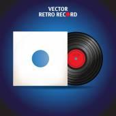 Vinyl record — Stock Vector