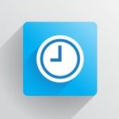 Clock icon — Stockvector