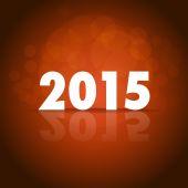 šťastný nový rok 2015 — Stock vektor