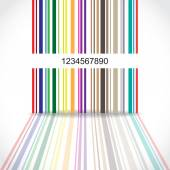 Barcode background — Stock Vector