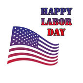 Happy labor day theme — Stock Vector