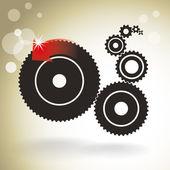 Kugghjul — Stockvektor