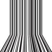 Barcode bakgrund — Stockvektor