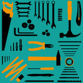 DIY tools — Stock Vector