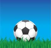 Futbol topu — Stok Vektör