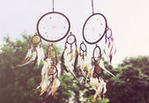 Traditional dreamcatcher — Stok fotoğraf