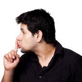 SHHHH Be Quiet! — Stock Photo