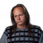 Sad native american man — 图库照片