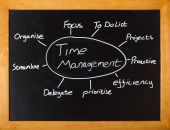 Time management lesson — Stock Photo