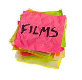 Making spending decisions - films — Stockfoto