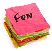 Life choices - setting priorities - fun — Stockfoto