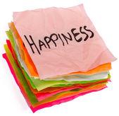 Life choices - setting priorities - happiness — Zdjęcie stockowe
