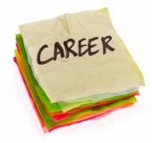 Life choices - setting priorities - career — Stock Photo