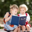 Children reading Fairy tale — Stock Photo #66282873