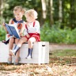 Children reading Fairy tale — Stock Photo #66282963