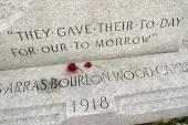 Monument commémoratif de guerre du monde — Photo