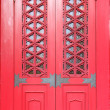 Red Temple Door — Stock Photo #53263485