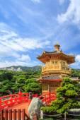 Goldener pavillon — Stockfoto
