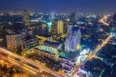 Cityscape Night — Stock Photo