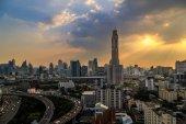 Sunset Cityscape — Stock Photo