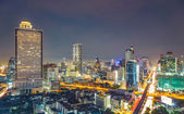 Night In Bangkok — Stock Photo