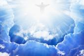 Jesus Christ in heaven — Stock Photo