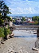 桥梁在库塔伊西 — 图库照片