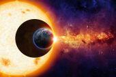 Sci-fi hintergrund — Stockfoto