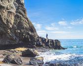 Ocean and rock — Stock Photo