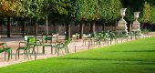 gardens des Tuileries in Paris — Stock Photo