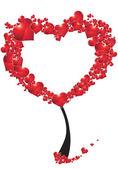 Tree of hearts — Stock Photo