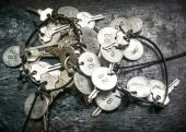 Group of keys — Stock Photo