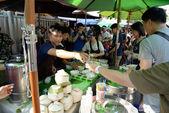 Coconut at Jatujak Market, Bangkok, Thailand — Stock Photo
