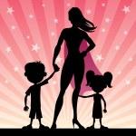 Super Mom — Stock Vector #59961159